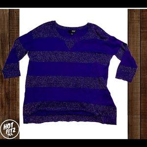 ANA a new approach purple striped